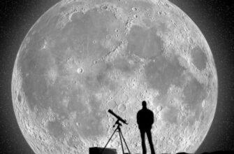 Жидкий телескоп на Луне - Начало Вселенной