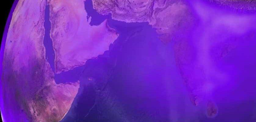 Раньше Земля была фиолетовой
