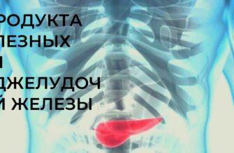 4 продукта полезных для поджелудочной железы