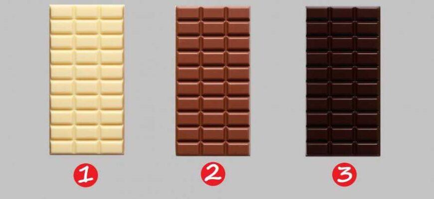 Выберите свой любимый шоколад и узнайте о своей личной жизни